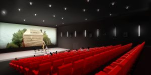3 salles de cinéma